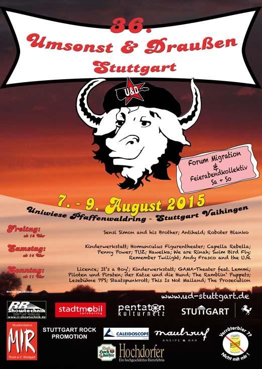 Plakat 36. U&D Stuttgart